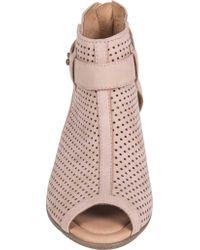 Earth - Pink Intrepid Mid Heel Sandal - Lyst