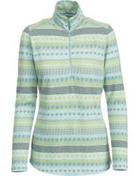 Woolrich Blue Mile Run Half Zip Knit