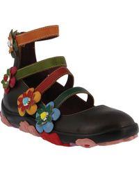 Spring Step Multicolor Meri Strappy Mary Jane