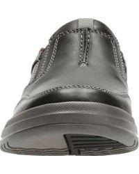Clarks Black Unrhombus Twin Sneaker for men