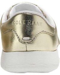 Cole Haan Metallic Grandpro Tennis Sneaker