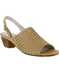 Spring Step Multicolor Eleanor Perforated Slingback