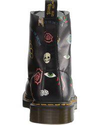 Dr. Martens - Black Pascal 8-eye Boot - Lyst