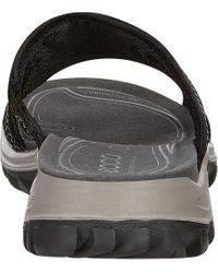 Ecco Black Offroad Lite Slide Sandal