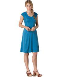 Toad&Co Blue Sama Sama Dress
