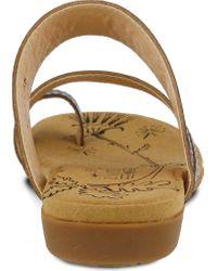 Spring Step Multicolor Akhila Toe Loop Sandal