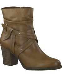 Tamaris Brown Tora Ankle Boot
