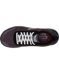 Skechers Black Work Relaxed Fit Comfort Flex Pro Hc Sr Sneaker