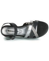 Sandales COLONIA Tamaris en coloris Black