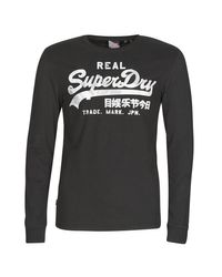 T-shirt Superdry pour homme en coloris Black