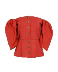 Sea - Beckett Blouse Red - Lyst