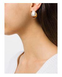 Charlotte Chesnais - Metallic Gold Mini Petal Earrings - Lyst