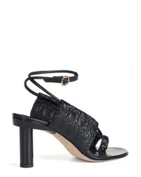 Tibi - Black 'aubrey' Sandal - Lyst