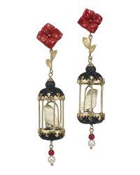 Of Rare Origin - Red Aviary Classic Mini Drop Earrings - Lyst