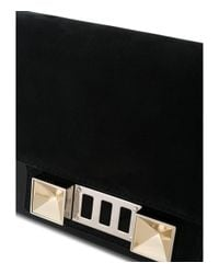 Proenza Schouler Black Ps11 Cross-body Wallet Bag
