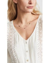 Jennifer Zeuner - Metallic Catalina Diamond Necklace - Lyst