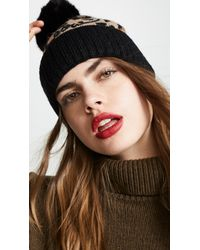 1d830095f601 Kate Spade. Women's Leopard Beanie Hat