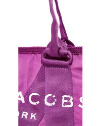 Marc Jacobs Purple New Logo Small Tote