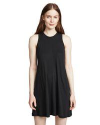 Nation Ltd Black Phoebe A-line Dress