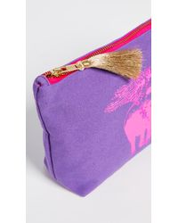 Figue Purple Flying Elephant Cosmetic Pouch