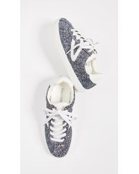 Tretorn Blue Camden Classic Sneakers