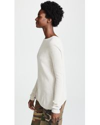 Autumn Cashmere - Multicolor Reversible Crossover Cashmere Sweater - Lyst