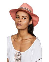 Jaunt Multicolor The Anacapri Small Brim Panama Hat