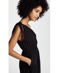 Cool Change Black Solid Faye Jumpsuit