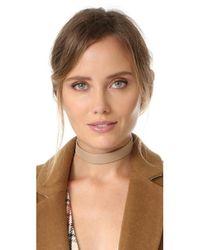 Jennifer Zeuner - Multicolor Ivy Whit Choker Necklace - Lyst