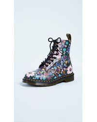 Dr. Martens - Multicolor Pascal Wl 8 Eye Boots - Lyst