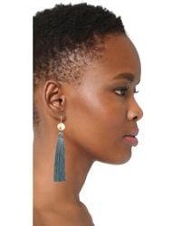 Gorjana - Multicolor Leucadia Tassel Earrings - Lyst