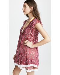 Poupette - Pink Pippa Mini Dress - Lyst