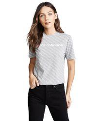 Paco Rabanne Gray T-shirt