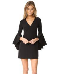 MILLY Black Nicole Dress