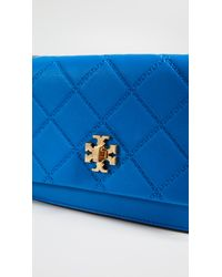 Tory Burch - Blue Georgia Turn Lock Mini Bag - Lyst