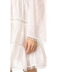 Zimmermann White Jasper Dot Floating Dress