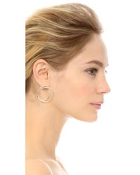 Elizabeth and James - Metallic Connolly Earrings - Lyst