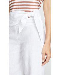 Club Monaco White Gaiah Pants