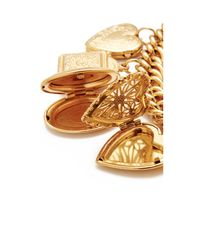 Ben-Amun - Metallic Chain With 6 Pendants Necklace - Lyst