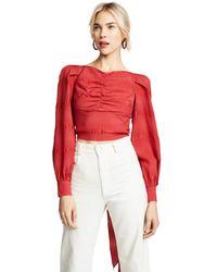 Rachel Comey - Red Bounds Top - Lyst