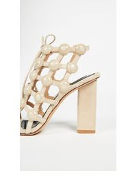 Alexander Wang - Natural Rubie Cage Sandals - Lyst