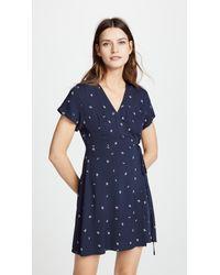 Knot Sisters Blue Laurel Dress