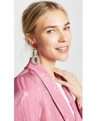 Marni Multicolor Strass Earrings