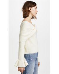 Ella Moss - Natural Jasinda Sweater - Lyst