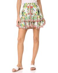 Camilla | Multicolor One Flew Miniskirt | Lyst