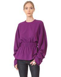 Solace London | Purple Macy Top | Lyst