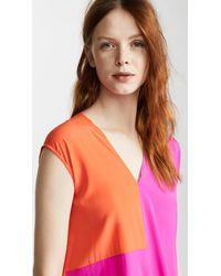 Zero + Maria Cornejo Multicolor Loop Dress