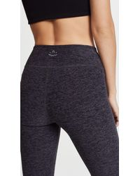 Beyond Yoga Black Space Dye Performance Leggings