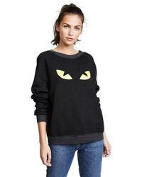 Wildfox Black Cat Sweatshirt
