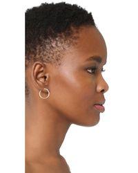 Saskia Diez - Metallic 14k Gold Bold Spiral Earring - Lyst